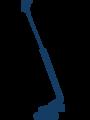 schematische Darstellung einer Spezial-Arbeitsbühne