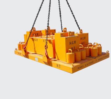 Bild eines Prüfgewichts für einen Kran